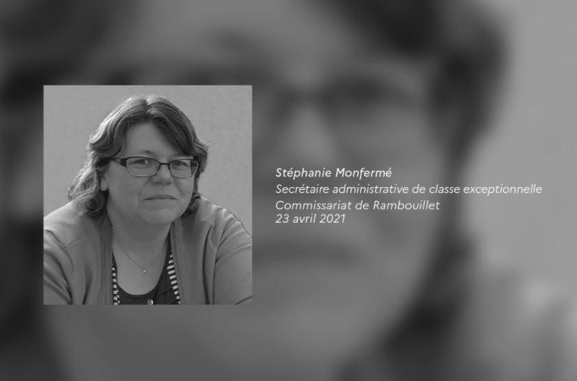 Cérémonie d'hommage à Stéphanie Monfermé