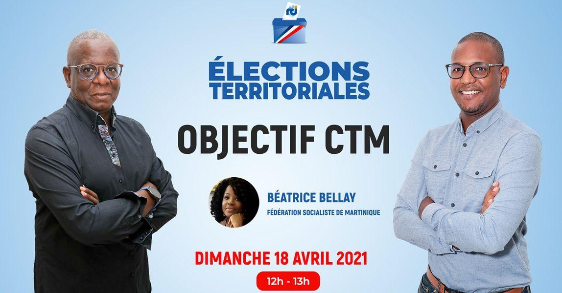 [VIDÉO] Béatrice Bellay est l'invitée d'Objectif CTM, l'émission politique de RCI