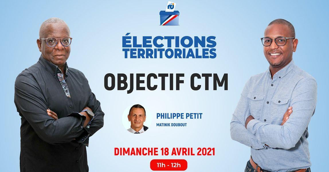 [VIDÉO] Philippe Petit est l'invité d'Objectif CTM, l'émission politique de RCI