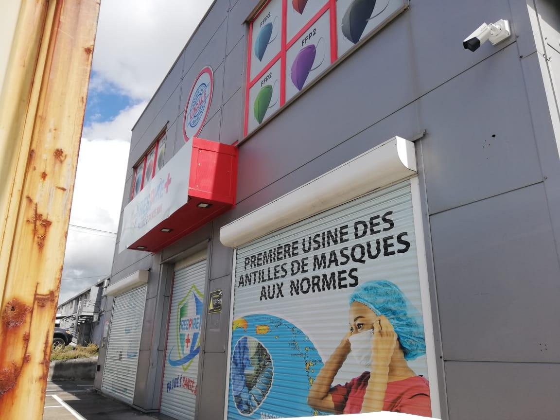 L'usine de masques de la Guadeloupe au centre d'une enquête pour détournements de fonds publics