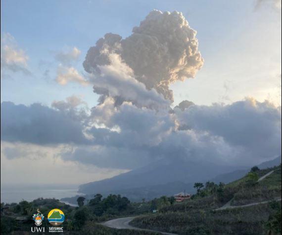 La Soufrière de Saint-Vincent rappelle que l'éruption n'est pas finie