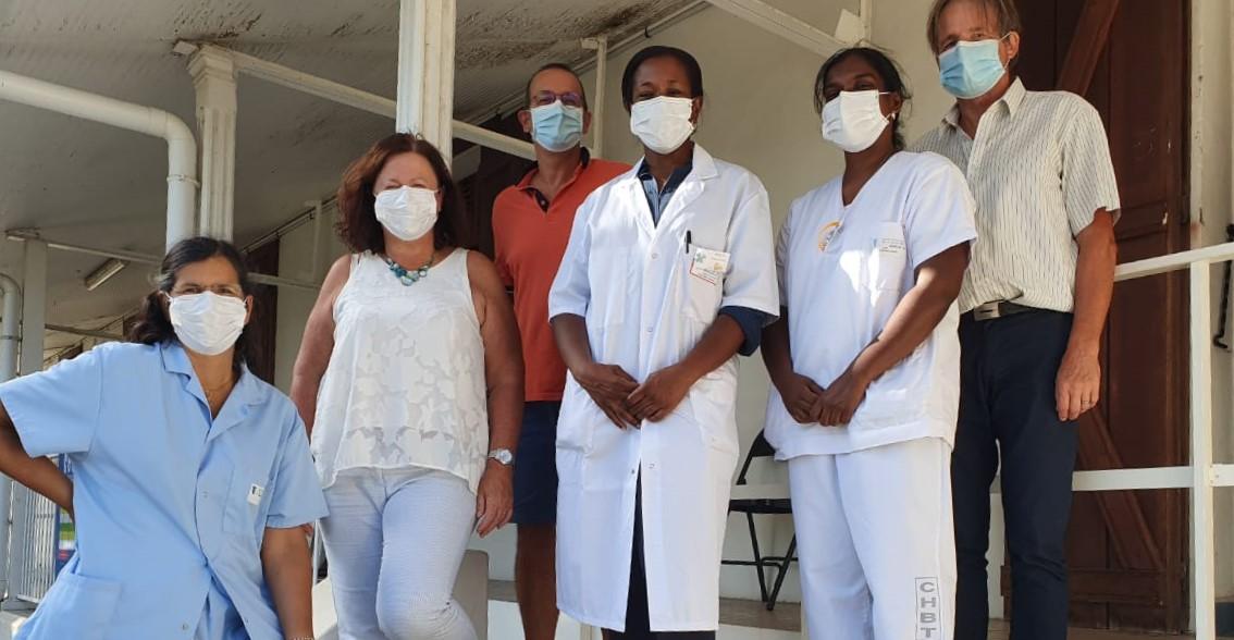Vaccination, gestion des malades :  le personnel toujours au front au CHBT