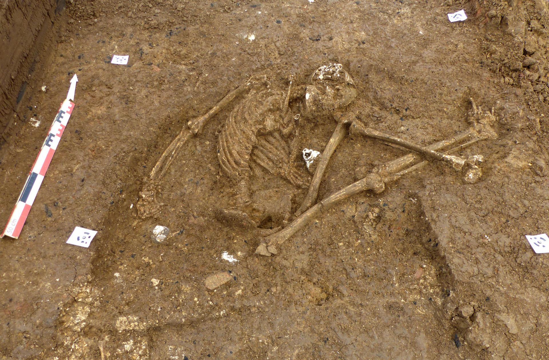 Une centaine de sépultures précolombiennes découvertes aux Abymes