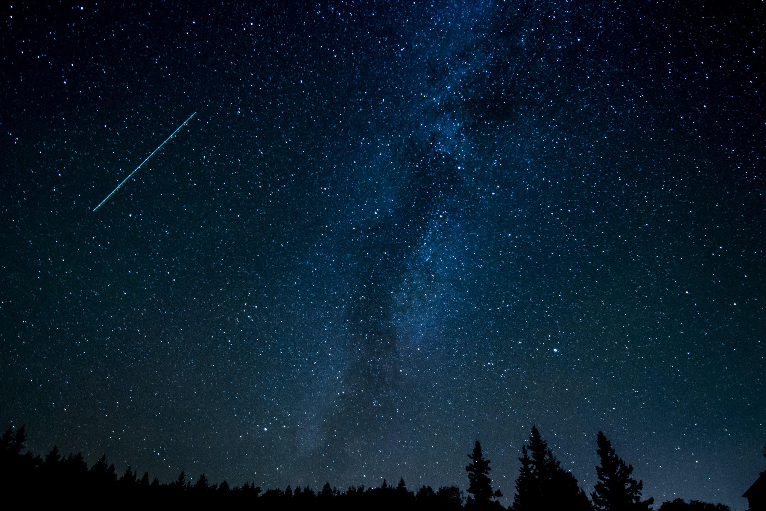 Une pluie d'étoiles filantes des Lyrides à observer cette semaine