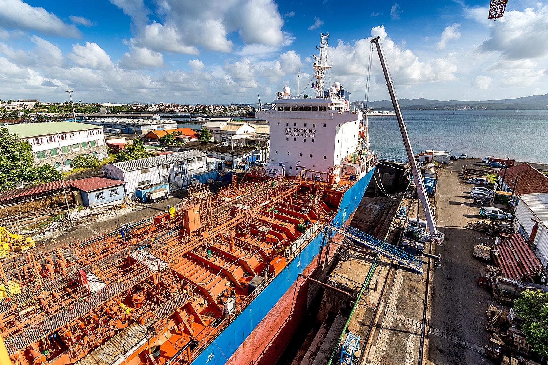 Le grand port maritime de Martinique réfute les accusations contre lui au sujet de l'ENA