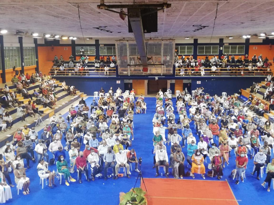 Elections de la CTM : les têtes de listes rassemblent leurs militants