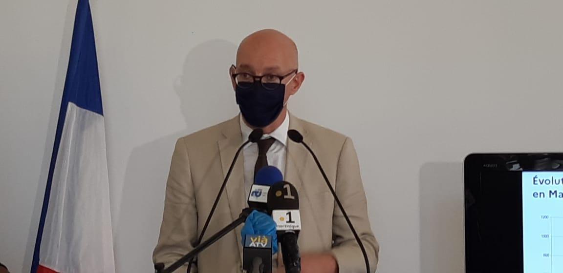 Covid-19 : Suivez en direct l'allocution du préfet de Martinique