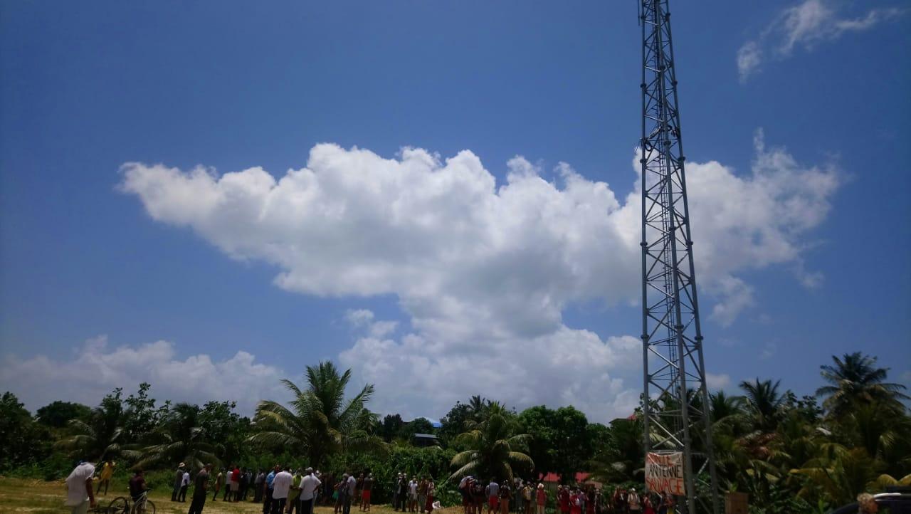 L'antenne relais de la discorde à Sainte-Rose