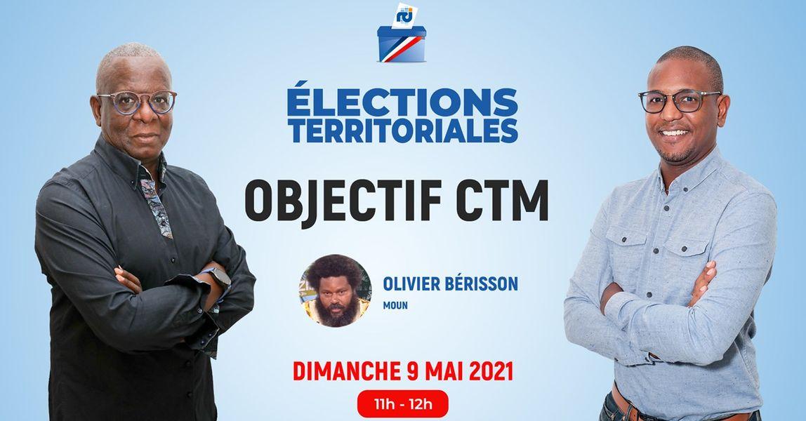 [LIVE] Olivier Bérisson est l'invité d'Objectif CTM, l'émission politique de RCI