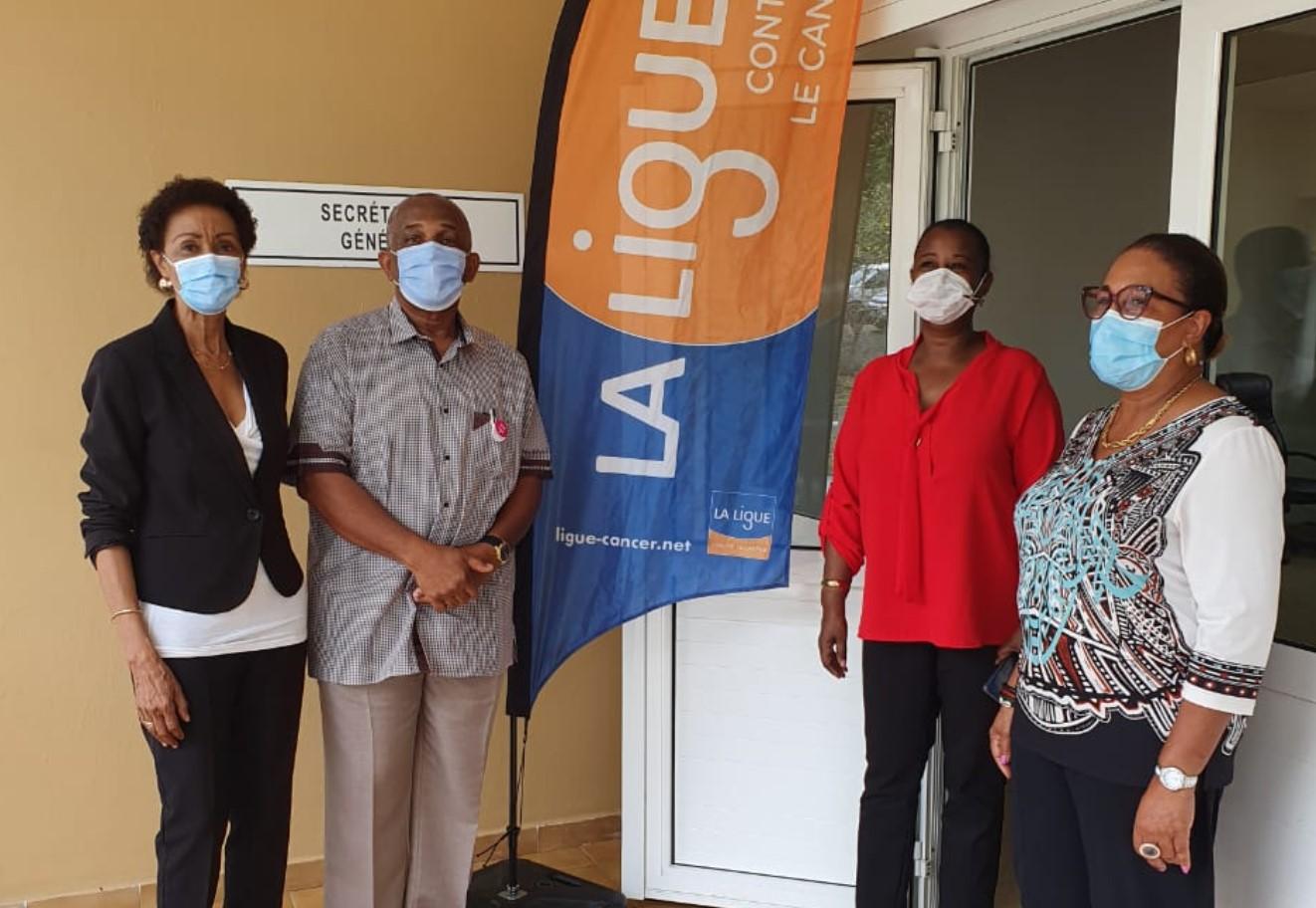 Une maison du cancer à Basse-Terre