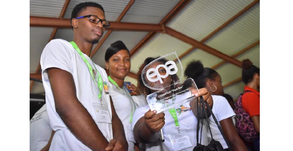 Le festival des mini-entreprises récompense les meilleurs projets d'élèves de Martinique