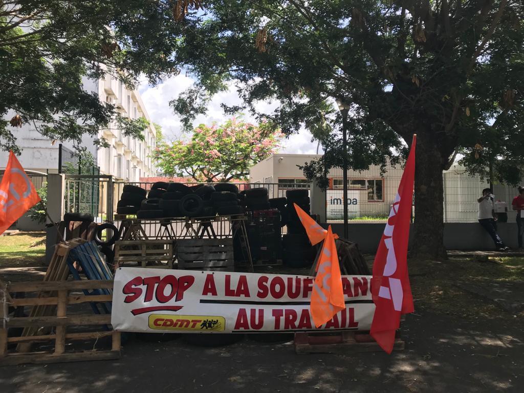 Grève à l'IMFPA : trois sites bloqués ce lundi