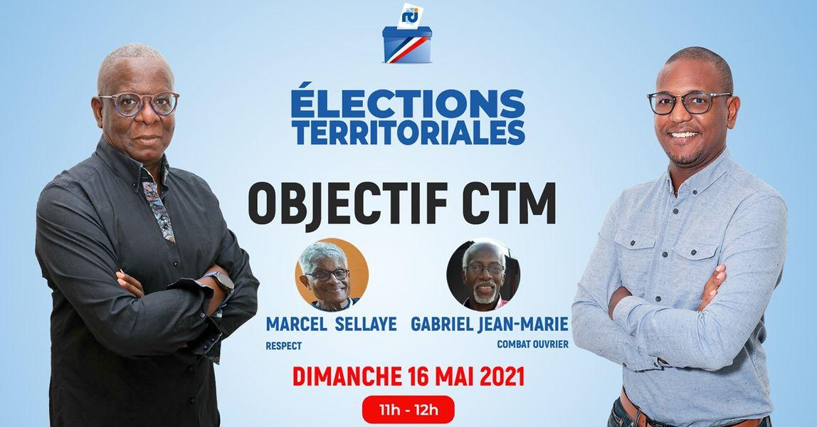 [LIVE] Gabriel Jean-Marie et Marcel Sellaye sont les invités d'Objectif CTM, l'émission politique de RCI