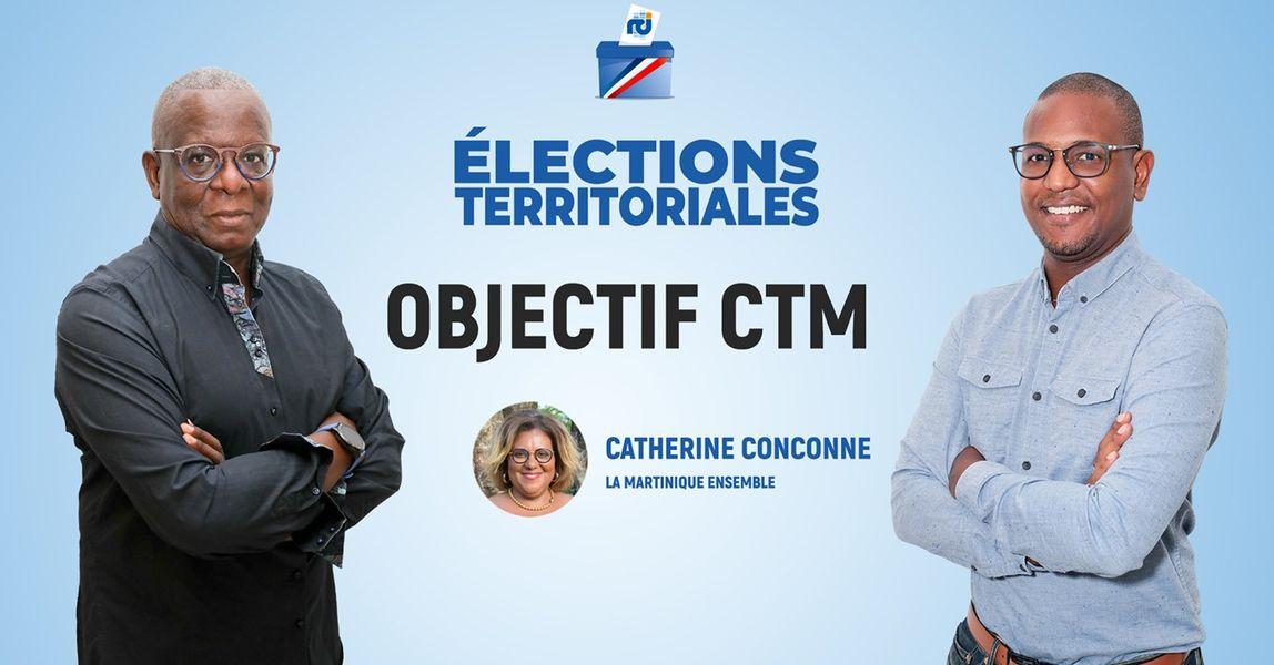 [LIVE] Catherine Conconne est l'invitée d'Objectif CTM, l'émission politique de RCI
