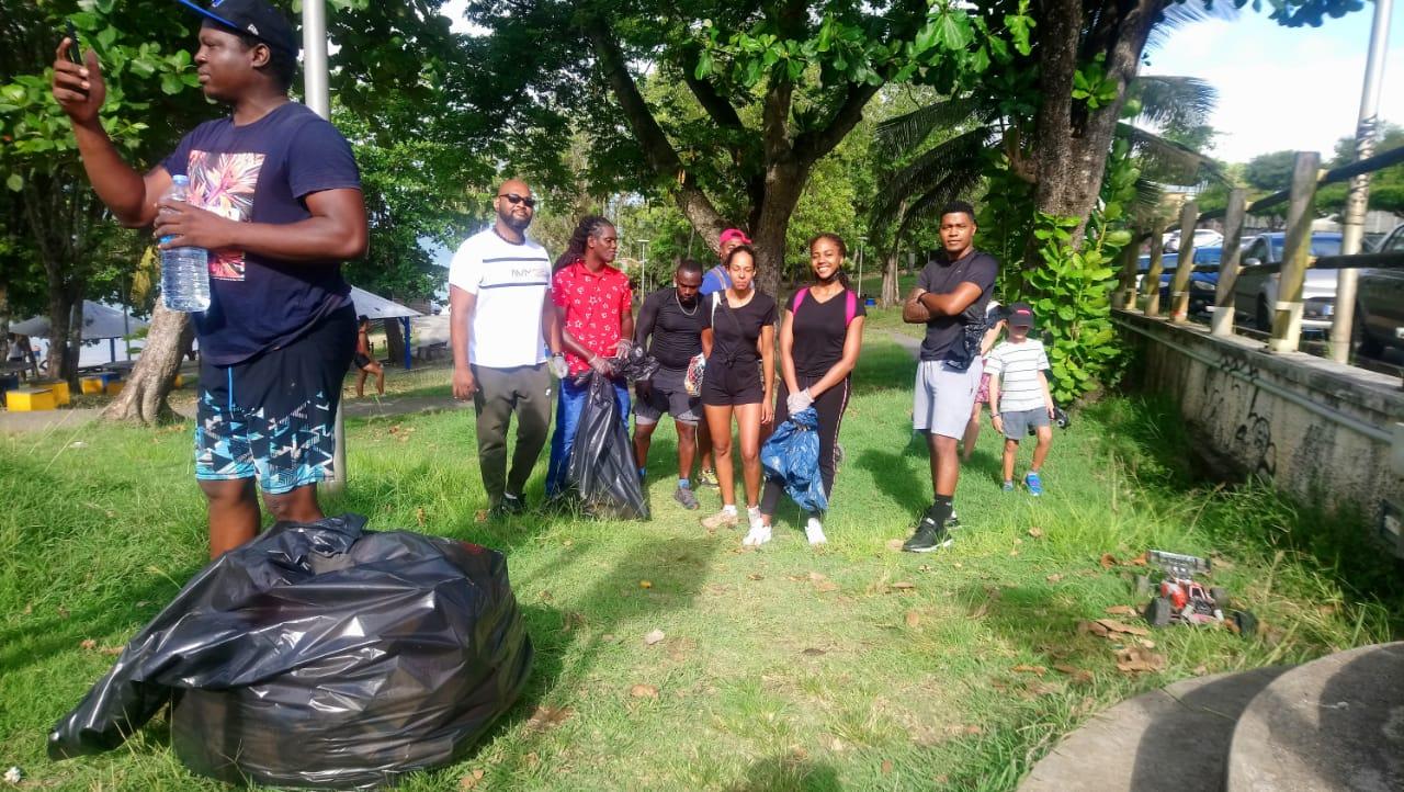 L'appel citoyen au grand nettoyage a été entendu au Gosier