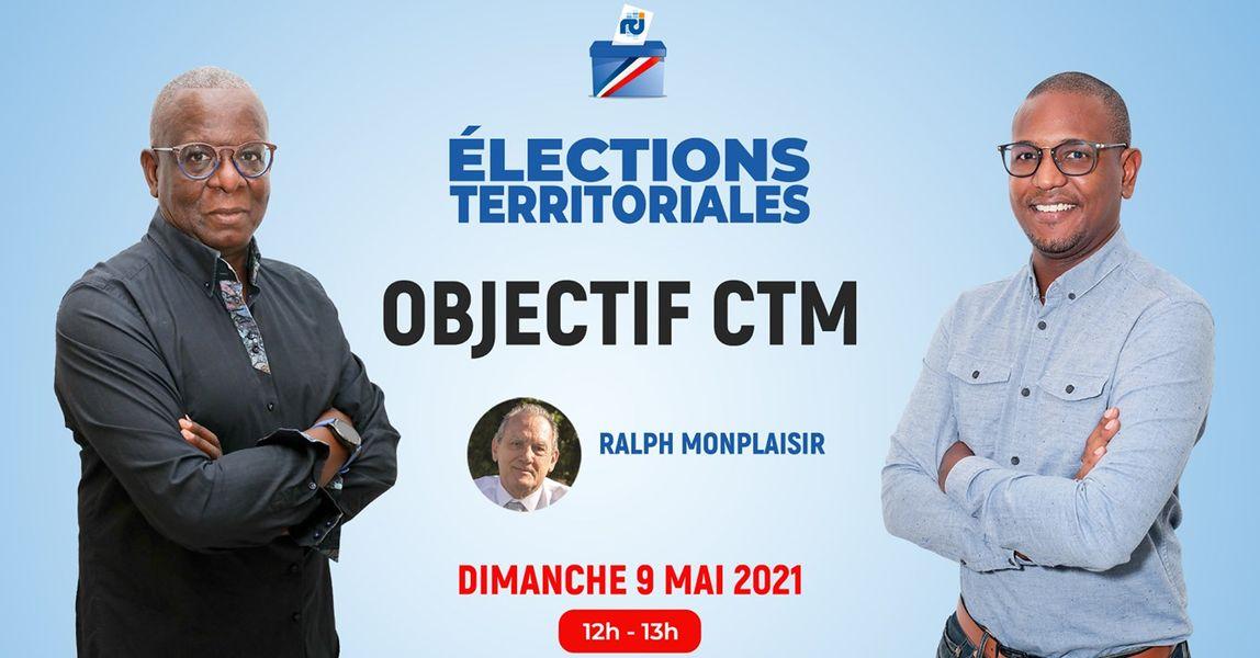 [LIVE] Ralph Monplaisir est l'invité d'Objectif CTM, l'émission politique de RCI