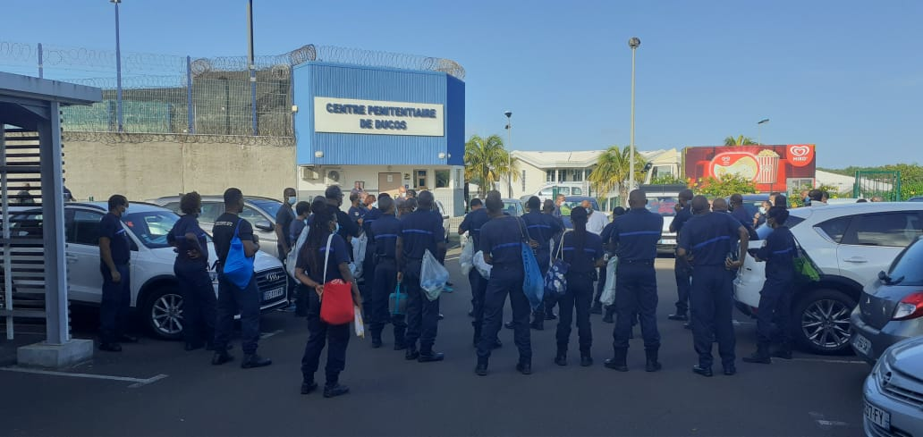 Prison : les agents pénitentiaires ont débrayé