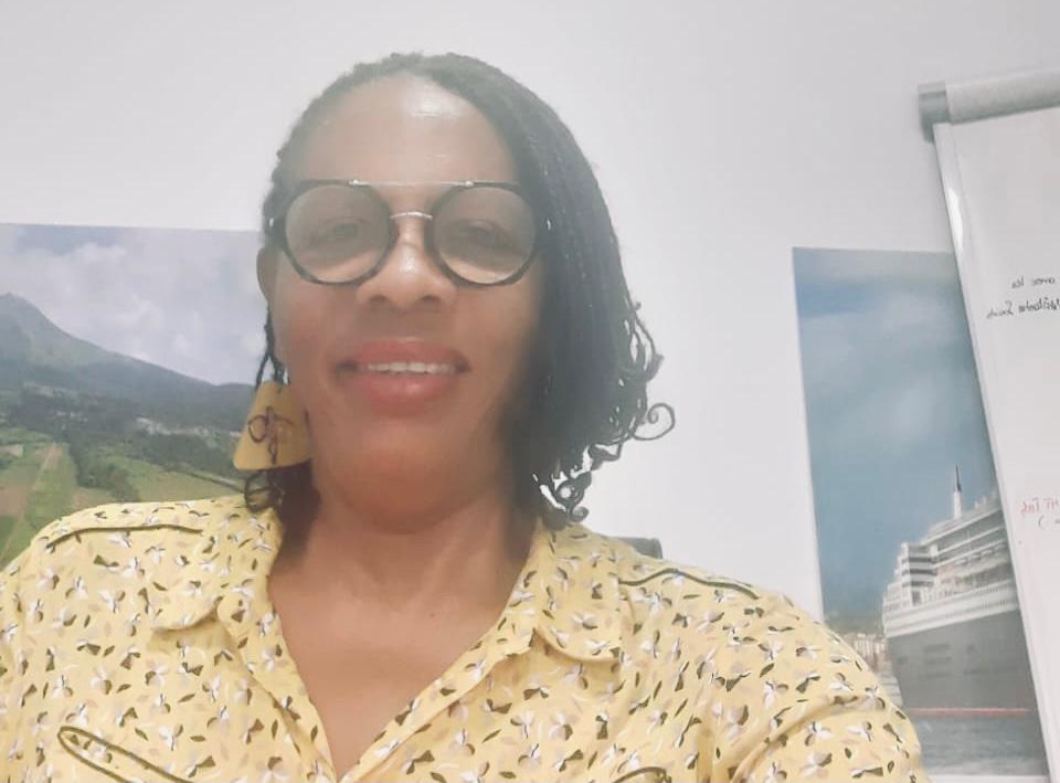 """Marie-Frantz Tinot de la liste """"Martinique Ensemble"""" était l'invitée de la rédaction"""