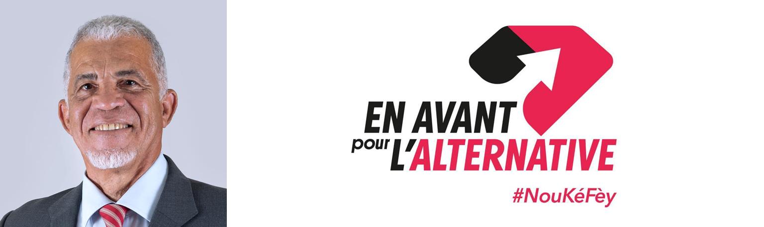 En Avant pour l'Alternative - tête de liste : Alain PLAISIR