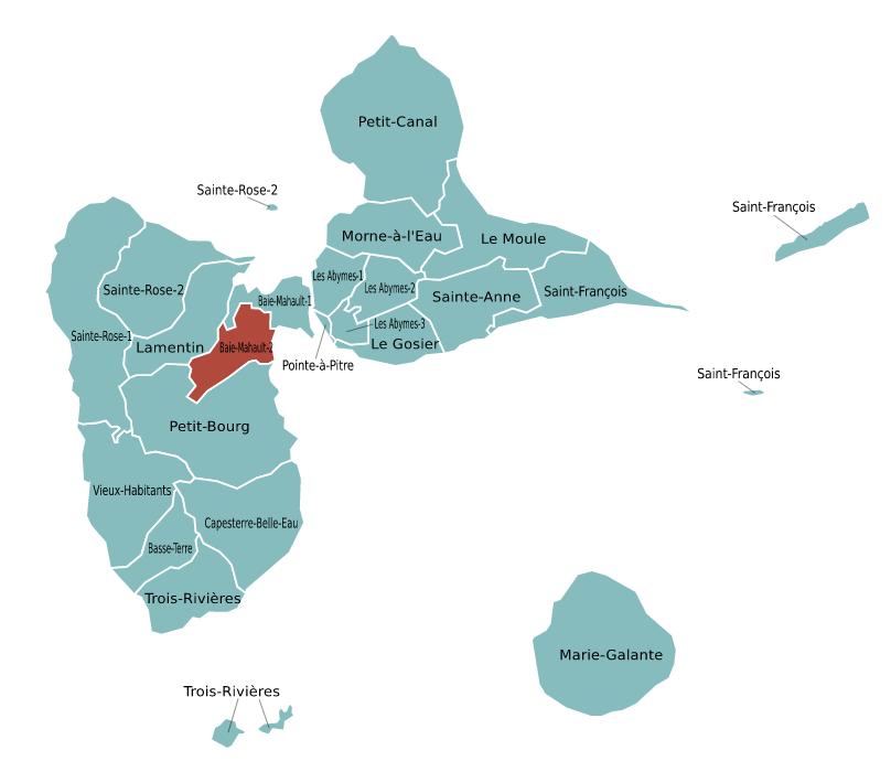 Candidatures pour le canton de Baie-Mahault-2
