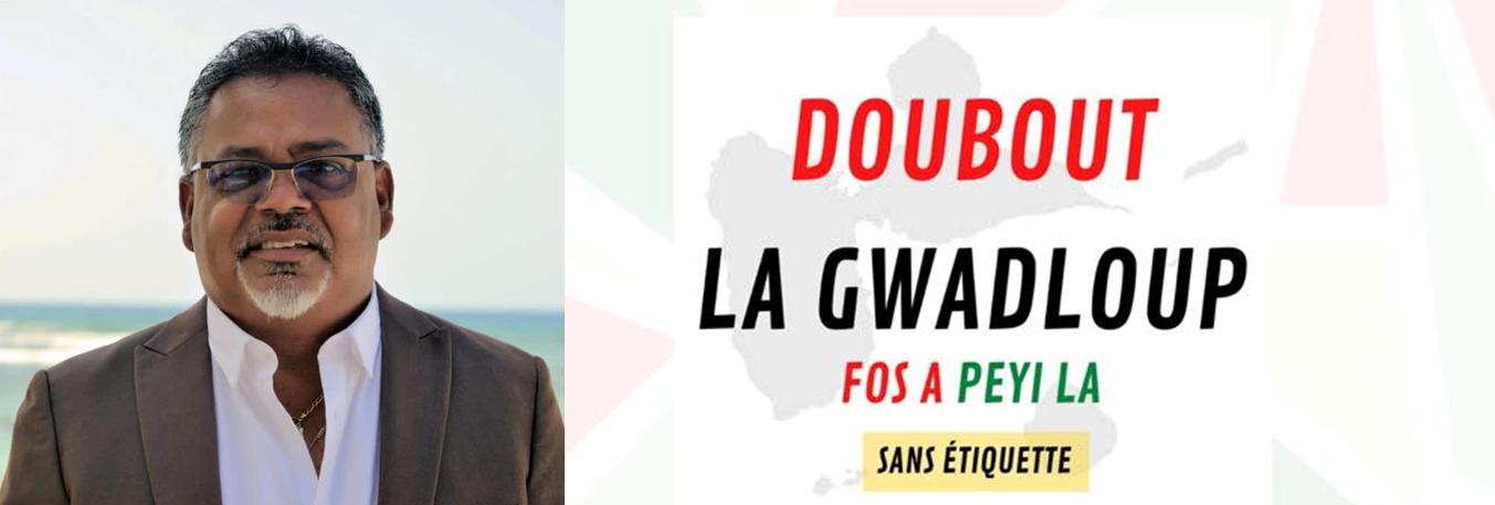 Doubout La Gwadloup - tête de liste : Tony DELANNAY