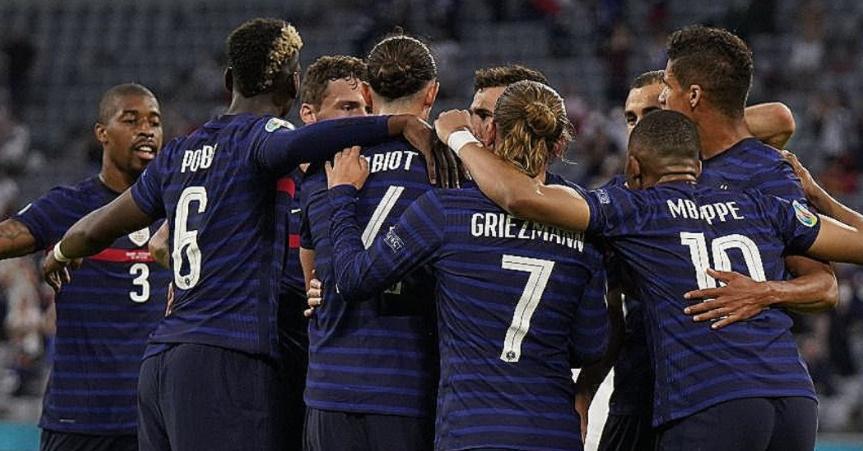 Les bleus s'offrent une victoire contre l'Allemagne 1 à 0