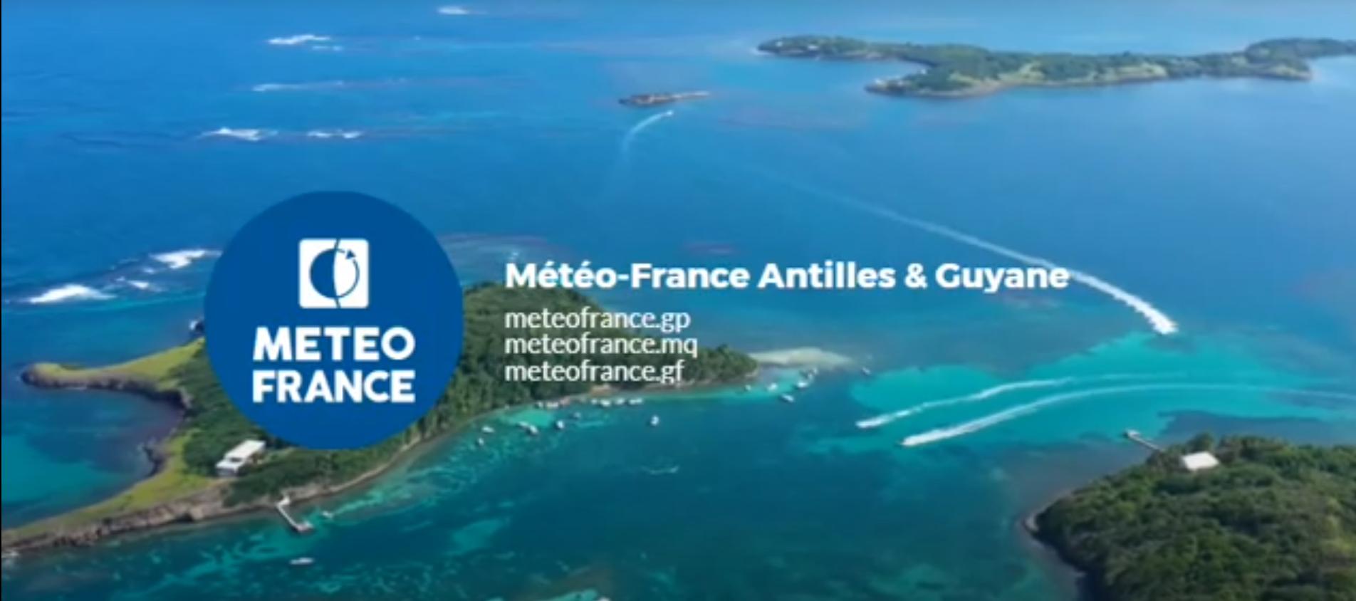 Météo France propose un site internet dédié à la Martinique