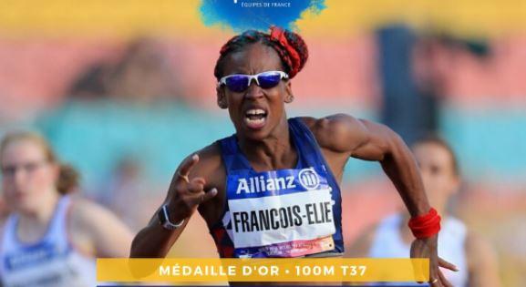 Mandy François-Elie s'offre une deuxième médaille d'or européenne