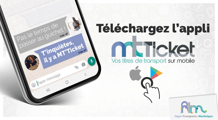 Du nouveau  sur le réseau Centre : l'application MT TICKET débarque sur les mobiles