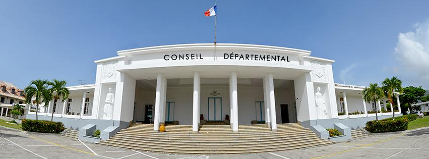 Installation du nouveau conseil départemental de Guadeloupe