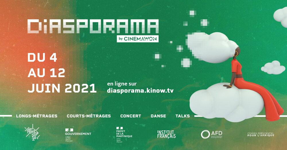 Diasporama, l'évènement cinéma en ligne de cinemawon, du 4 au 12 juin