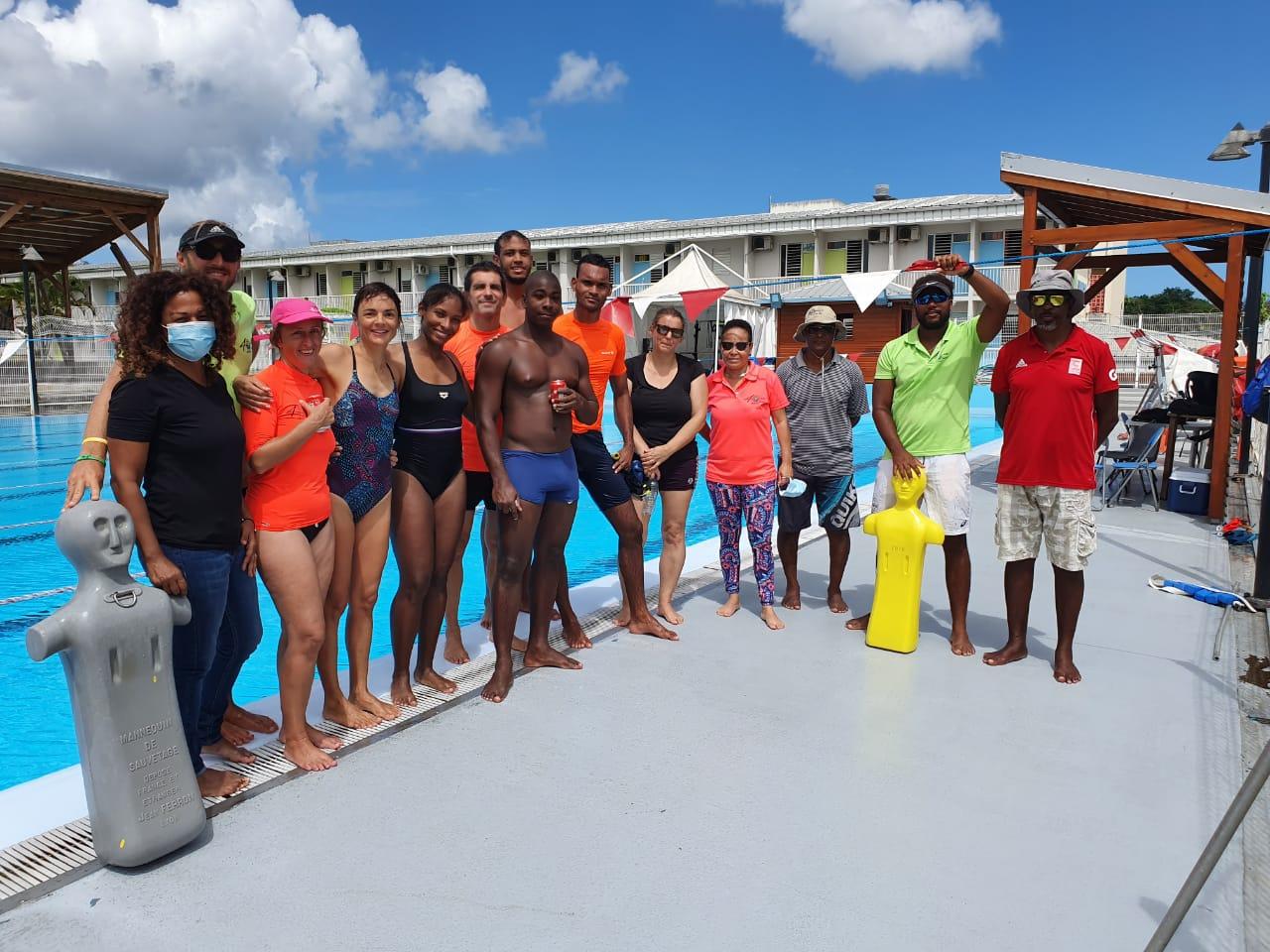 18 nouveaux surveillants de baignade et sauveteurs aquatiques en Guadeloupe