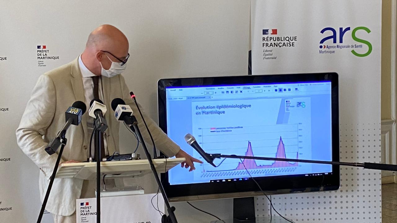 Covid-19 : l'épidémie explose en Martinique avec 410 nouveaux cas