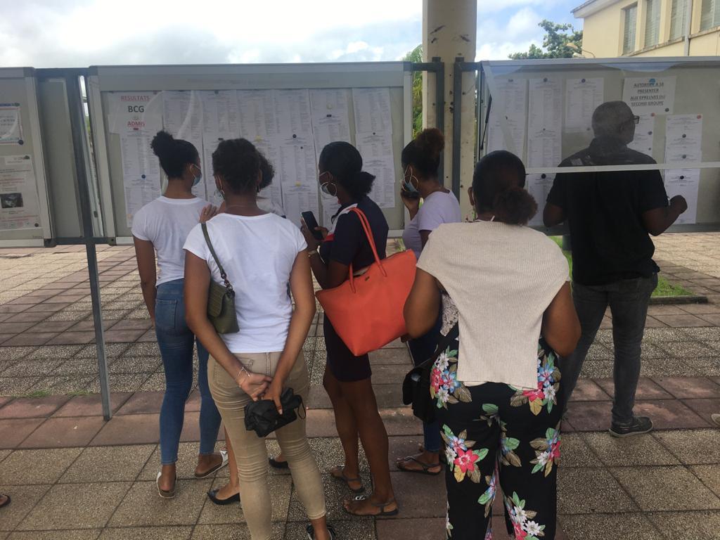 Baccalauréat 2021 en Martinique : baisse du taux de réussite, à 86,42% d'admis au premier tour