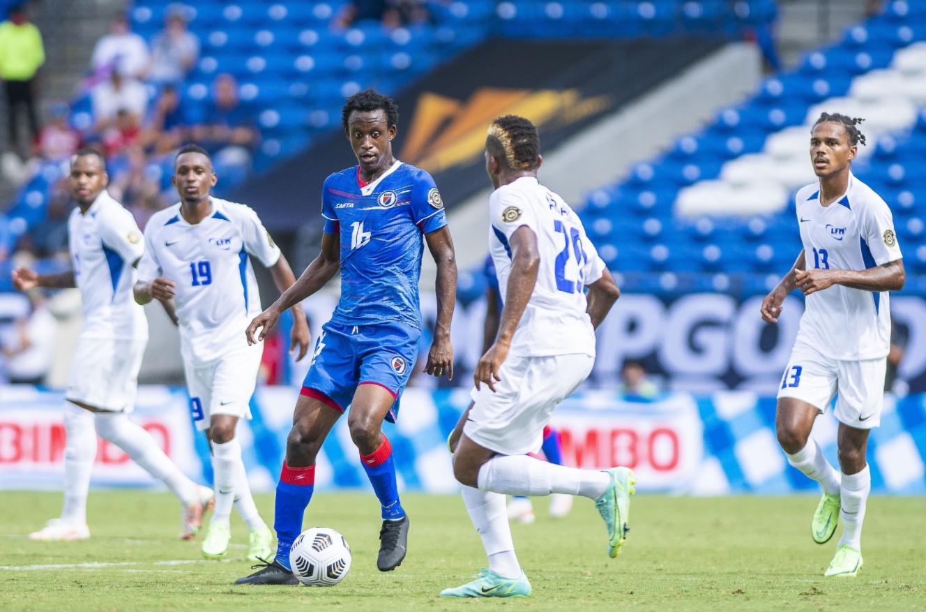 Gold Cup : la Martinique s'incline face à Haïti 2 buts à 1