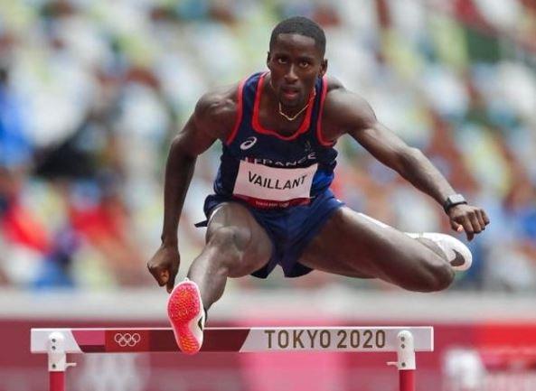J.O. : Ludvy Vaillant qualifié pour les demi-finales du 400 m haies
