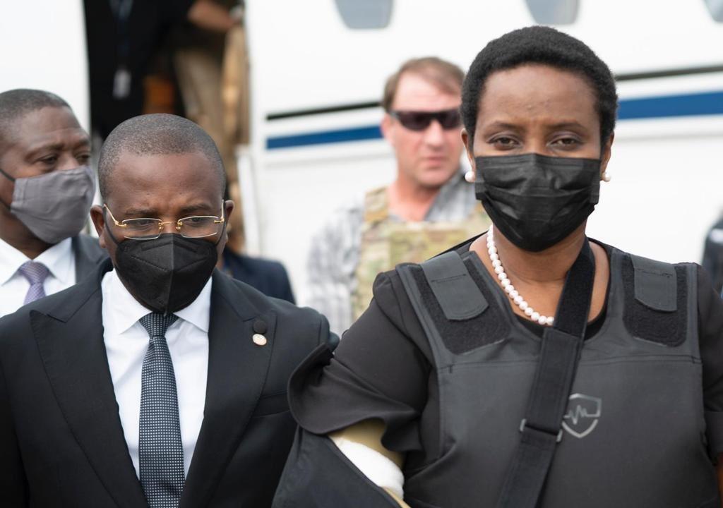 La première dame Martine Moïse revient en Haïti après l'assassinat de son époux
