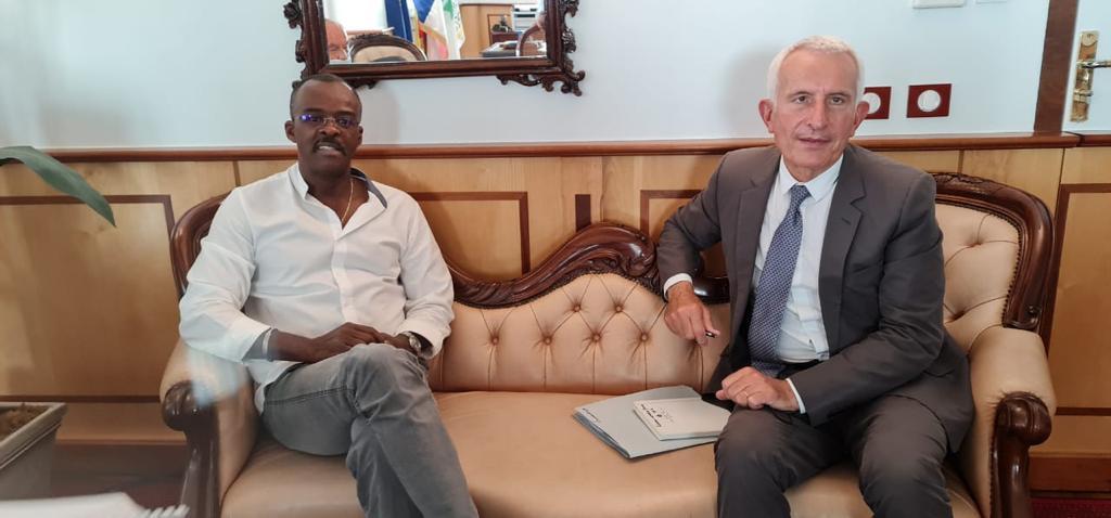 Rencontre entre le président d'Initiative France et le président de Région