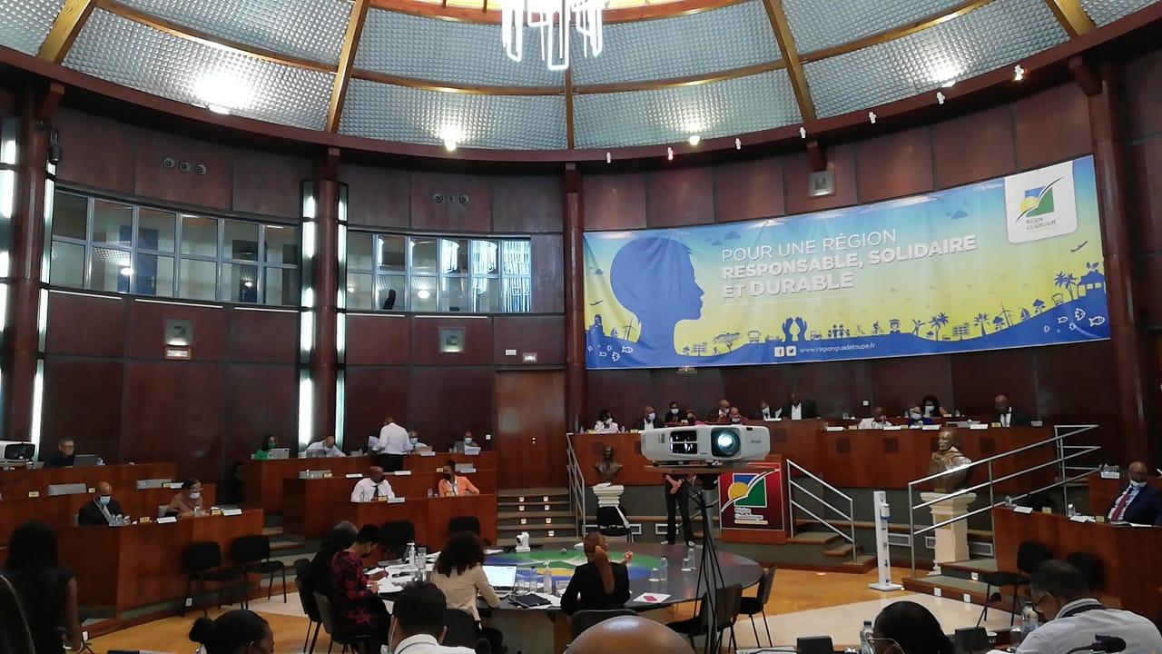 Première plénière du Conseil Régional pour la mandature 2021-2028