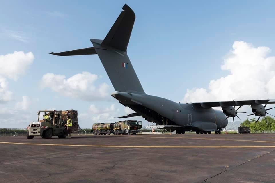 Les renforts sanitaires de l'armée sont arrivés en Martinique