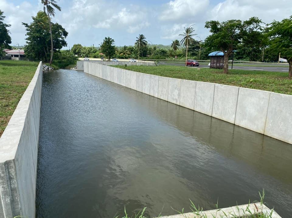 Le dispositif pour empêcher l'inondation de la RN5 a été livré