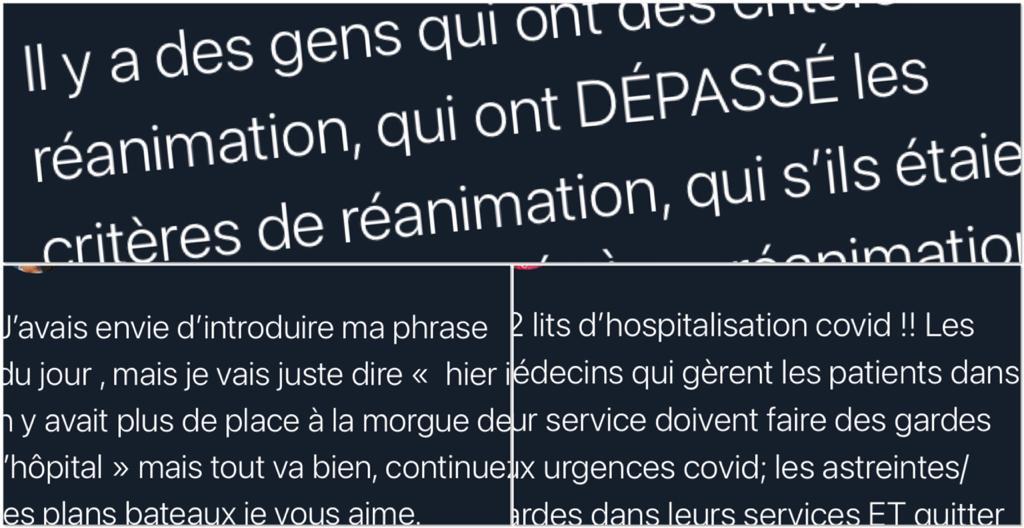 Sur les réseaux, médecins et infirmières alertent sur la situation au CHU de la Martinique