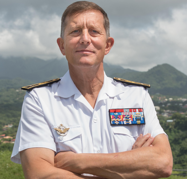 Eric Aymard prend la tête des Forces Armées aux Antilles