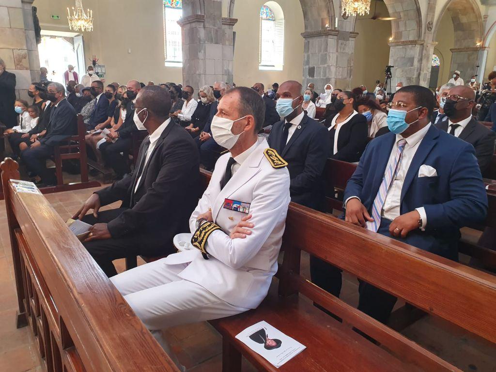 La cathédrale de Basse-terre accueille les funérailles de Lucette Michaux-Chevry