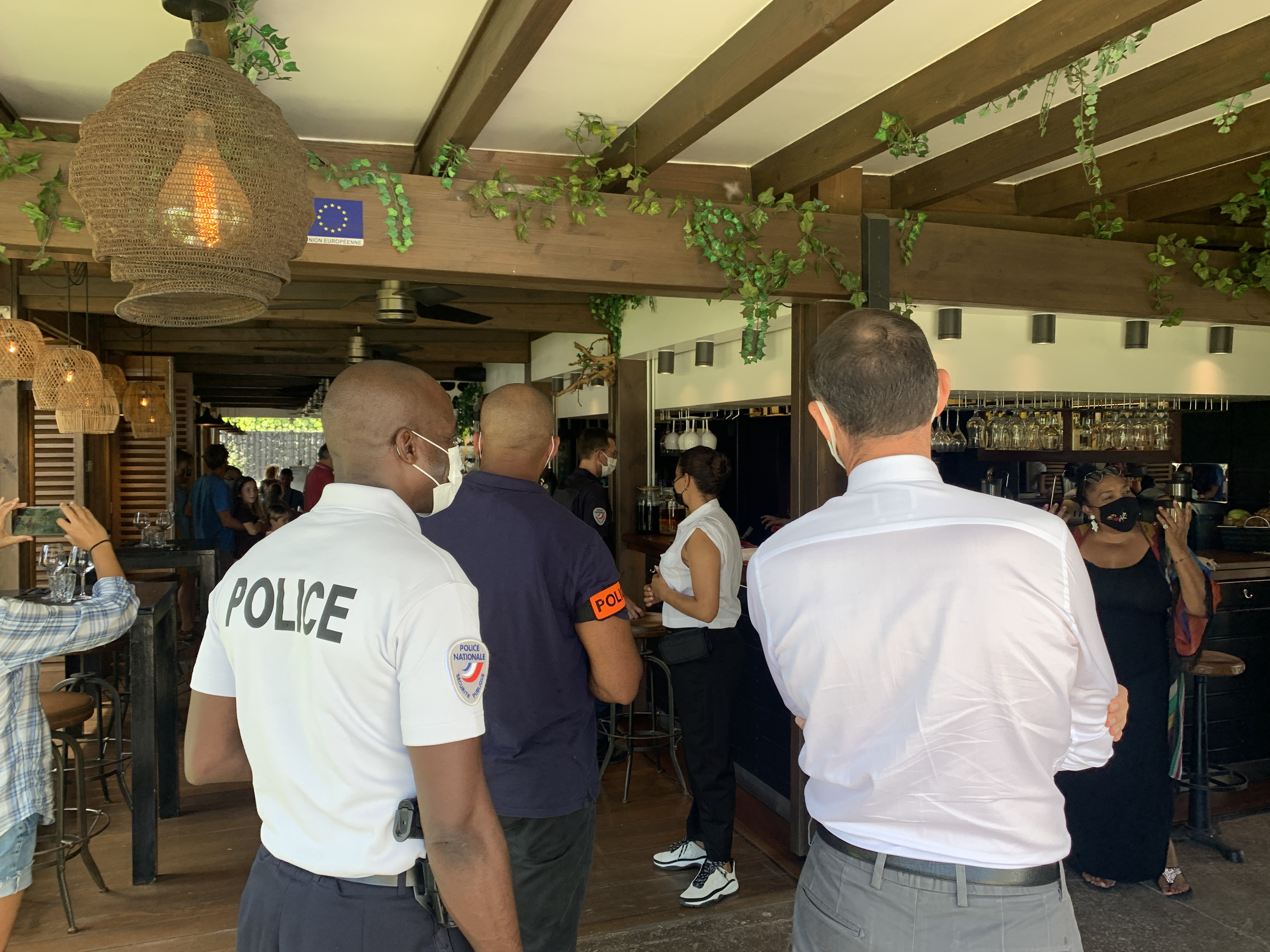 Pass sanitaire : une opération de contrôle dans les restaurants ce dimanche midi