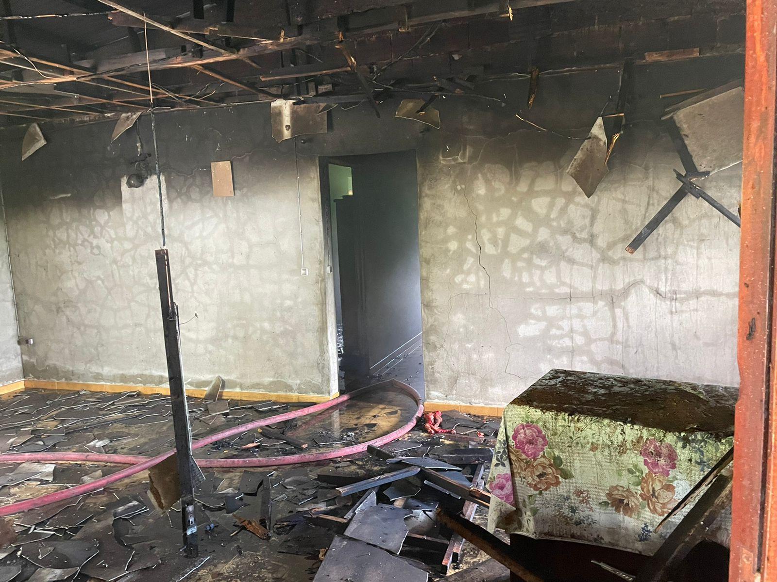 Il sauve une nonagénaire de l'incendie de sa maison