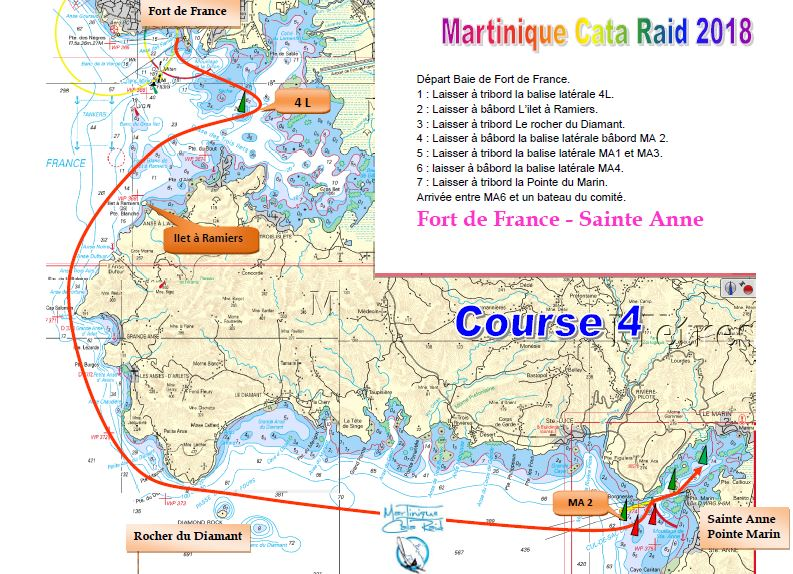martinique cata raid course 4