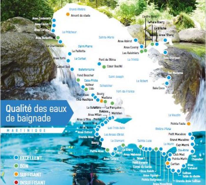 100% des eaux de baignades contrôlées par l'ARS présentent un niveau correct