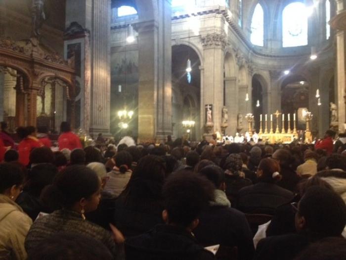 11 novembre : messe parisienne à Saint-Sulpice