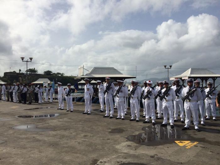 14 juillet : les forces armés aux Antilles mises à l'honneur